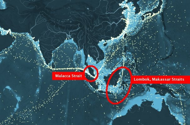 Lombok, Makassar Straits Could Replace Malacca Strait as Main Sea Trading Lane, Says Indonesian Government