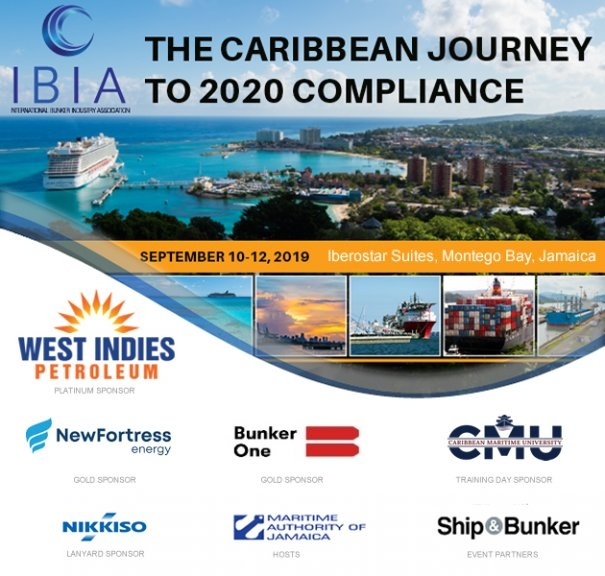 IMO2020: Jamaica to Host Second IBIA Caribbean Bunker Conference