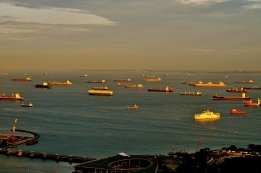 Singapore: Tankers Used to Store low Sulfur Components