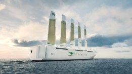 Swedish Companies Announce Wind-Powered Car Carrier Design
