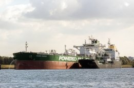 First Ship-to-Ship LNG Bunkering at Rotterdam
