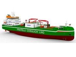 Wärtsilä to Supply Cargo System for Fratelli Cosulich LNG Bunker Barge