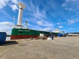 German Multi-Purpose Freighter Adds Rotor Sail