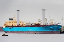 Maersk Tankers Sticks With Rotor Sails After 1-Year Trial Gives 8.2% Bunker Savings