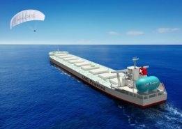 Seawing Kite System Chosen for LNG-Fuelled K Line Bulker