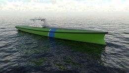 Autonmous Vessel Pitched for Offshore Wind Farms