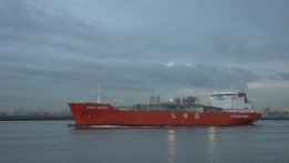 Dual-Fuel Eco-Friendly LNG Tanker Delivered