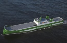 New Finnlines Ro-Ro Ships to Use Battery Power at Port