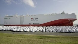 Volkswagen's First LNG-Fuelled Transatlantic Car Shipment to Arrive in Mexico
