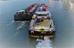 Inland Container Ship Planned to Run on Hydrogen by December