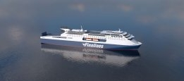 Grimaldi Orders Air Lubrication Systems for Two Finnlines Ro-Pax Ships