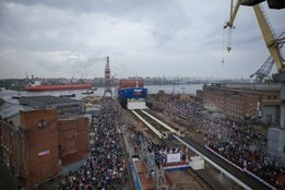 Russia Launches Nuclear Powered Vessel