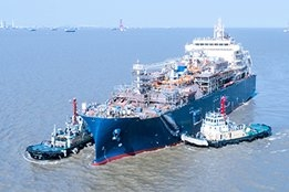 Total Launches World's Largest LNG Bunkering Vessel