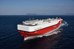 K Line Takes 'Climate Transition Loan' for Gas-Powered Car Carrier
