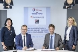 Total Signs LNG Bunker Supply Agreement with Brittany Ferries