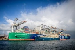 Total's LNG Barge Gas Agility to Bunker One Container Ship Per Week