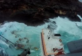 Debunkering Underway for Grounded Vessel in Greece