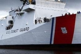 USCG Raises and Dewaters Stricken Towing Vessel