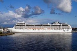 Third MSC Cruises Ship Takes on Scrubber