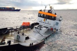 MAIB Report Cites Insufficient Lookout for Bunker Barge Collision with Cargo Vessel