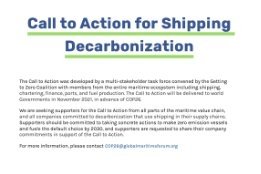 Bunker Companies Join 150+ Global Industry Stakeholders Urging Full Decarbonisation of Shipping by 2050