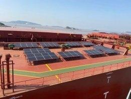 Berge Bulk Tries Out Supplemental Solar Power