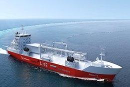 Design for Liquid Hydrogen Bunkering Vessel Unveiled