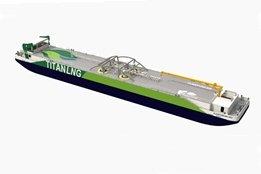 Antwerp to Get LNG Bunkering Pontoon