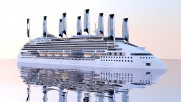 Solar and Wind Powered Cruise Ship to Sail in 2020