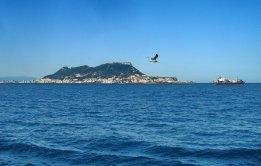 Spanish Navy Ship in Gibraltar Spat