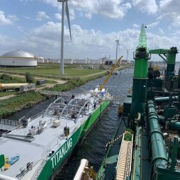 Titan LNG Sees Insufficient Analysis to Compare Ammonia Bunkers to LNG