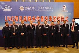 GTT Signs Multi-Party MOU for Strategic Cooperation on LNG Projects