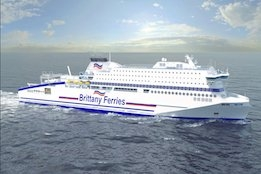 Brittany Ferries LNG-Powered Newbuild Receives EIB Support Under Green Shipping Initiative