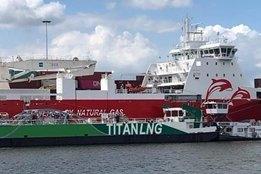 Titan Starts LNG Bunkering in Rotterdam