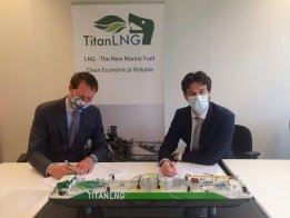 Titan LNG Takes EU Funding for Biogas Bunker Project