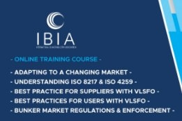 IBIA Makes Bunker Training Course Available Online
