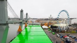 Dry Bulk Carrier Tests 100% Liquefied Biogas in Baltic