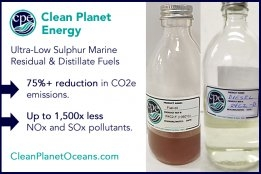 Clean Planet Energy Launches Bunker Fuels Produced From Plastic Waste