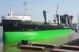 ESL Shipping Launches Second LNG-Powered Newbuild