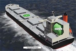 AIP Granted for LNG-Powered Coal Carrier Design