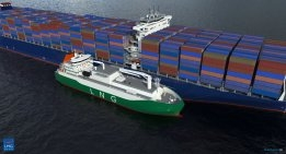 Singapore: LNG bunker Tanker Operating in Port by 2021