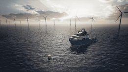 Maersk Tests Offshore Charging Buoy Powered by Wind Farms
