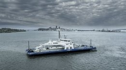 Milestone Hit with Delivery of First North American-Built LNG Fuelled Ferry