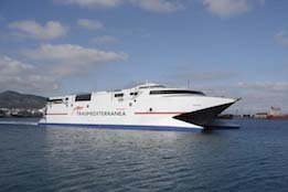 """High Speed Ferry Business """"Very Exposed"""" to Fuel Volatility, Says Trasmediterránea Director"""