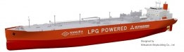 MOL Takes on Two LPG-Fuelled VLGCs