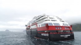 Hurtigruten's Hybrid Makes Maiden Voyage