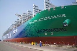 World's First LNG-Powered Mega-Boxship Joins CMA CGM's Fleet