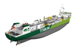 Titan Issues Tender for New LNG Bunkering Barge