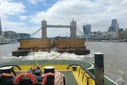 PLA Announces New Research on Thames' Vessel Emissions