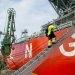 First Voyage for European LNG Bunker Tanker